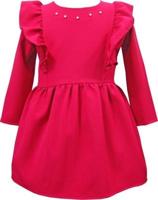 8b2386fc6c Sukienka wizytowa dla dziewczynki 140 - Sukienki dziecięce - Allegro.pl