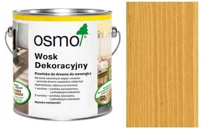 Dekoratívne vosk OSMO na drevo 0.75 L Dub 3164