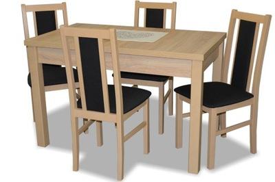 стол раскладной стулья 4шт комплект МЕБЕЛИ белый