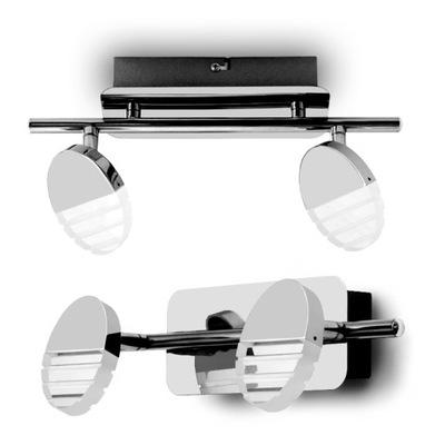 SPOT LÁMP LED ROTAČNÉ NÁSTENNÉ alebo stropné lampy, 2x5W 3000K