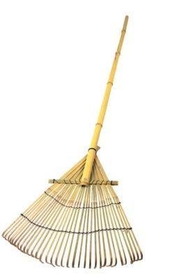 Grabie bambusowe 140 cm, do liści. bardzo lekkie