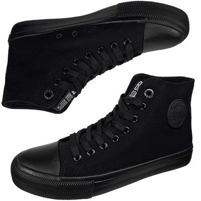 Czarne trampki Big Star damskie buty FF274a170 37