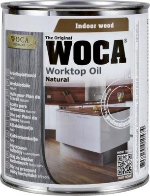 масло для столешниц WOCA WORKTOP OIL натуральный 0,75 л