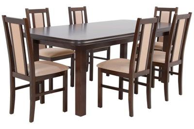 комплект КОМНАТ стол ??? 3M 6 стульев из ДЕРЕВА