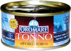 тунец в оливковом масле 80 ? OROMARE