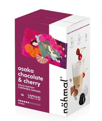 Rene капсулы Dolce Gusto Nohmal Chocolate Cherry