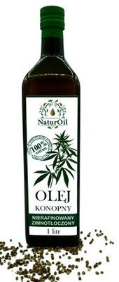 масло конопли, из конопли посевной 1litr NaturOil