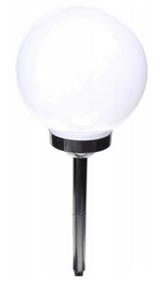 25 cm LAMPA 4 x SOLÁRNY LED záhrada LOPTA čierny