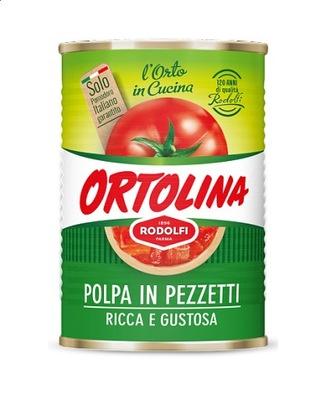 Polpa pomidorowa Ortolina 400 g 5128