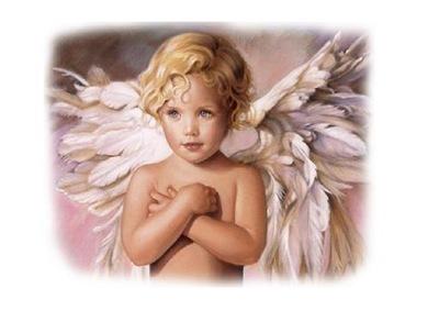 бумага рисовый 25 г, ангелы ,ангелы 73-136