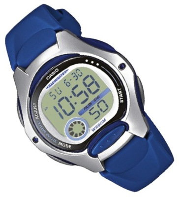 Wodoszczelny zegarek dziecięcy Casio LW-200 2AVEF