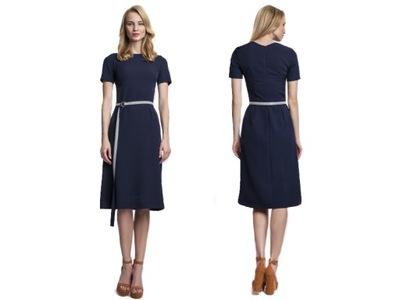 58fa79f720 ASOS obłędna sukienka midi koronkowa ołówkowa 42 7787188637 - Allegro.pl