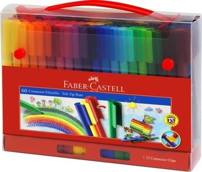 Cítil perá Faber Castell Konektor kufor 60 farby
