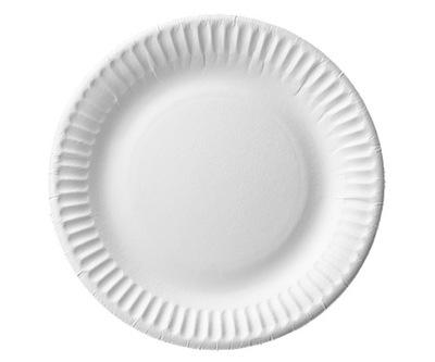 Тарелки Бумажные Тарелки Бумажные белое 15cm 100s