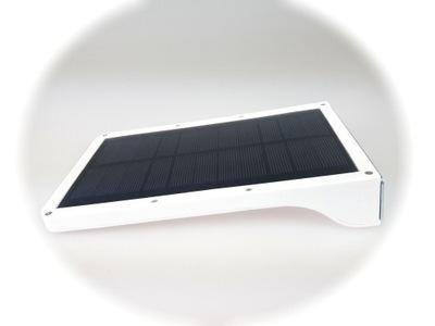 36LED solárne nástenné Svietidlo 3 režimy, biela