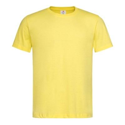 Podkoszulka koszulka t-shirt Męski ZÓŁTA L