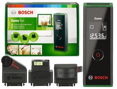 DALMIERZ LASEROWY ZAMO 3 SET BOSCH + 3 adaptery