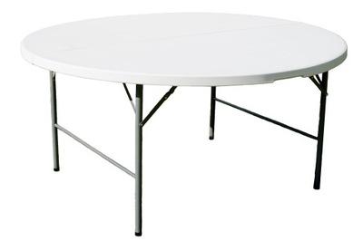 SKLADACÍ STÔL OKRÚHLY priemer 160 cm cateringowy tabuľka