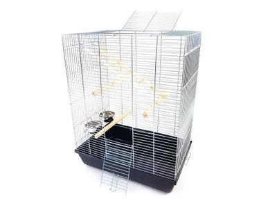 клетка MEGA60 60x40x75 для ПТИЦЫ - канарейка, попугай