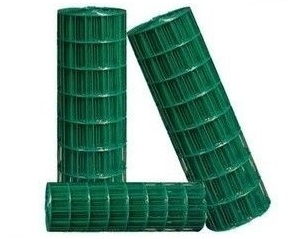 Pletivo na plot, pozinkované + PVC, zelenej, 20 m, 1,2 m