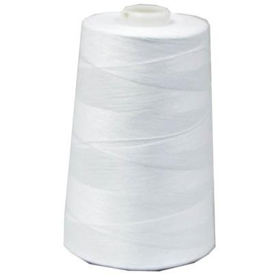 Швейные нитки ??? owerloka 4572 метров белая