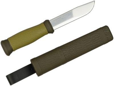 Нож  MYŚLIWS ТУРИСТИЧЕСКИЙ С ВАГИНОЙ MORA Две тысячи ОТКРЫТЫЙ