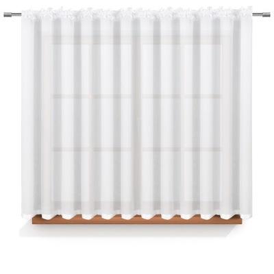 Шторный с кремом 400x150 лента шторы вуаль белая