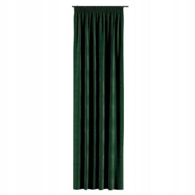 Завеса Velvet велюр ZAMSZ145x250 Зелень бутылку