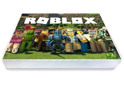 Op U0142atek Na Tort Roblox Ko U0142o 21 Cm 7400025924 Oficjalne