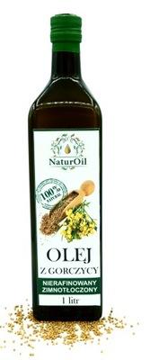 масло горчичный горчица 1 л. NaturOil