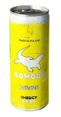Комодо Energy Drink Banana напиток Банановый 250 мл