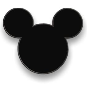 Мышь Микки Маус - термо полоса -  Сезона