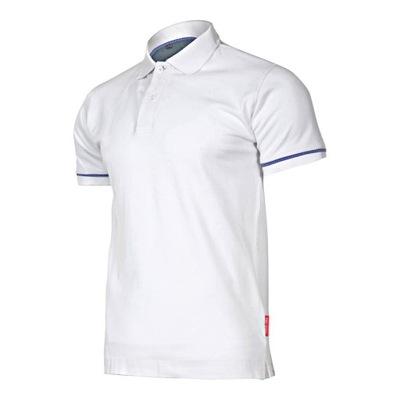 Koszulka Polo biała BHP Lahti Pro 220g rozmiar L