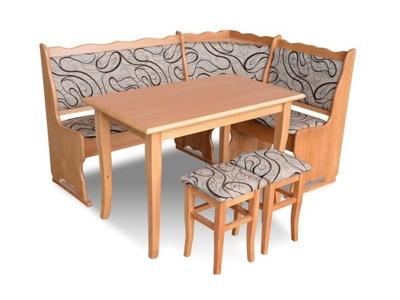 Угол Кухня W1 стол стул - комплект
