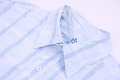 Koszula męska F&F BLUE rozmiar L kołnierzyk 41 7721993232  Ittye