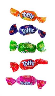 Конфеты фруктовые TOFFIX с соком растворимые 1кг