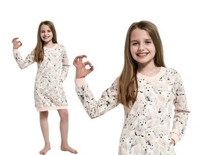 943 120 Polar Bear 3 Cornette koszula dziewczęca  HD5Yr