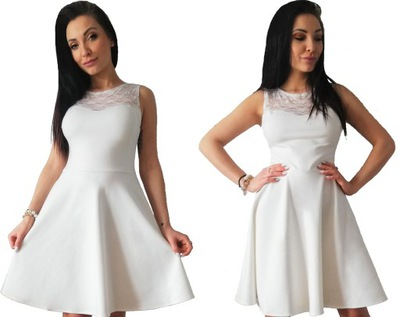 c405bd43198 sukienka ECRU ZŁOTA cekiny 36 skracamy PRODUCENT ! 7355048777 ...