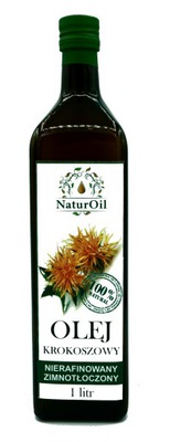масло сафлоровое 1000ml NaturOil