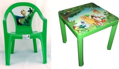 Столик ??? ребенка пластиковый креслом ?