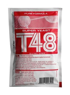 дрожжи ??? дистилляции T48 Турбо Pure мега Сильные