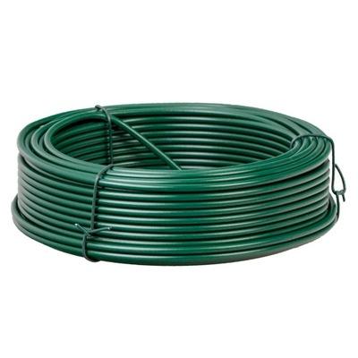 Pozinkovaný drôt s PVC záterom d/2.6 mm. X 100 m.