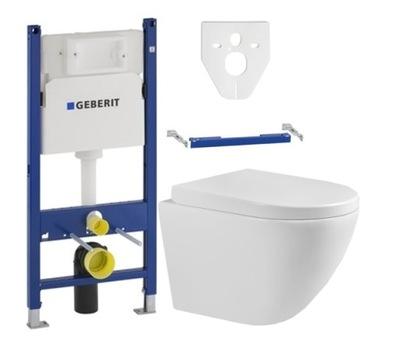 Geberit BASIC КАРКАС туалет + MEXEN миска Лена доска