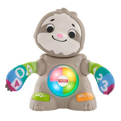 Fisher-Price LINKIMALS INTERAKTYWNY LENIWIEC GHY92