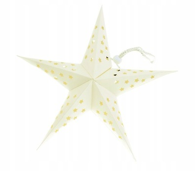 Звезда Бумажная фонарики абажур ВИТРАЖ + лампа