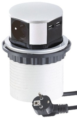 Slotu mortise je skryté v top 3 konektory 2x USB