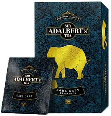 Herbata SIR ADALBERT'S Earl Grey 25 torebek