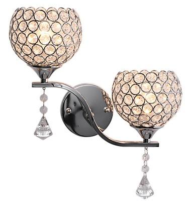 Sconce svietidlo nástenné svietidlo E27 stropný luster DOUBLE