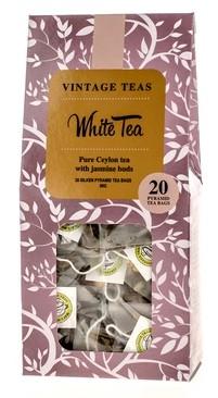 белая чай винтаж Teas White Tea 20 сумок