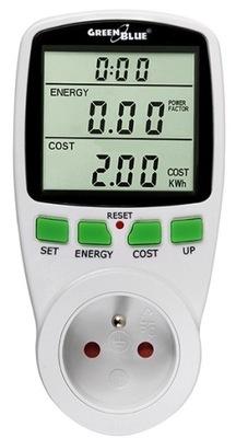 Energie meter, Meter Watomierz GreenBlue GB202
